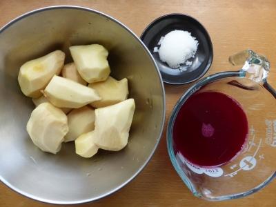 紅生姜の材料