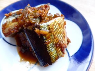 秋刀魚の韓国風煮