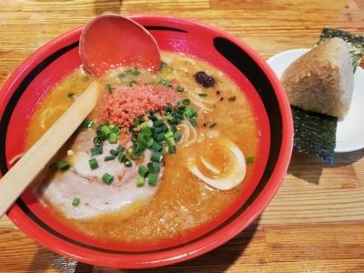 えびしょうゆのほどほどを細麺で780円