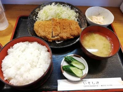 トンカツ定食840円