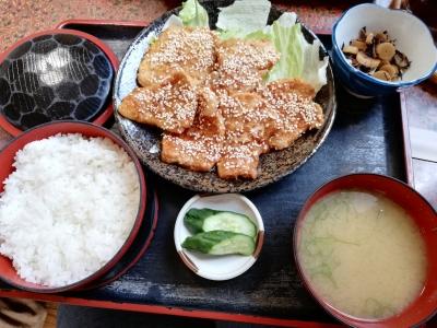 生姜焼定食900円