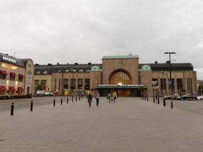 ヘルシンキ駅到着