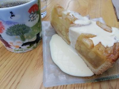 コーヒーとアップルパイ
