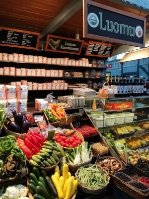 タンペレmarimekko隣の市場2