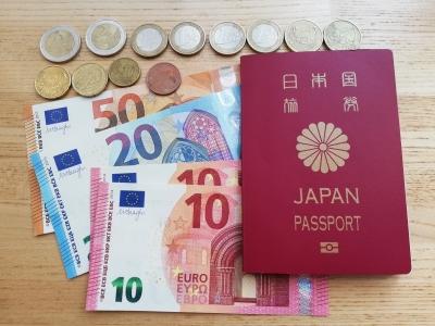 ユーロ残金