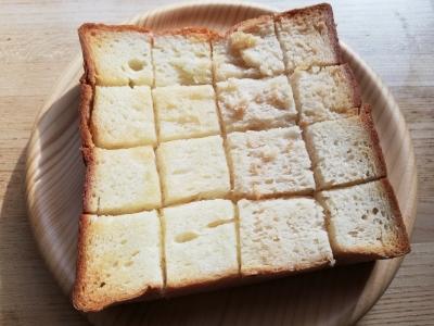 トースト美味し