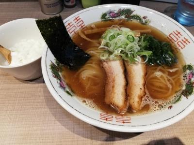 煮干中華750円