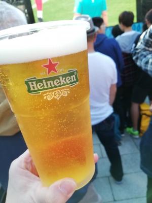 Heineken一発