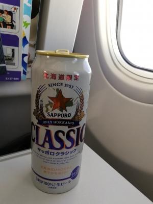 機内でクラシック