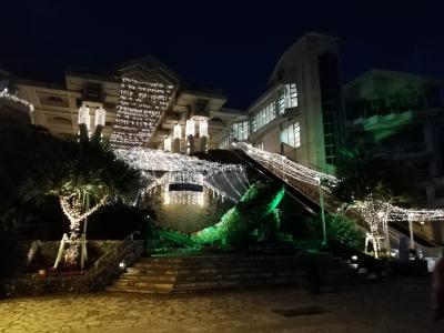 水族館ライトアップ