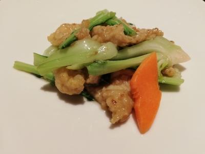 豚肉と青梗菜の炒め