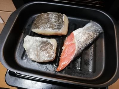 魚を焼いてみよう