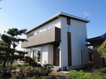 自然素材が息づく家