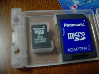 microSDTMメモリーカード