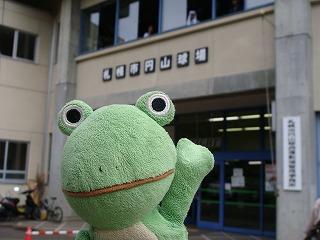 会場は札幌円山球場