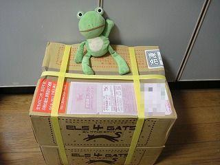 箱、2段組で届く