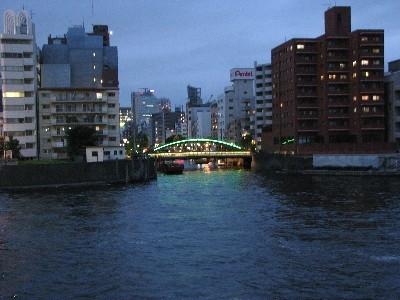 両国橋から見る柳橋1