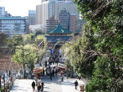 上野弁天堂2009元旦