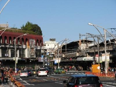 聚楽台と上野駅