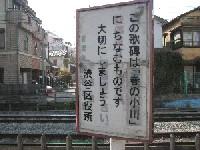 渋谷区役所看板