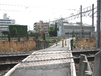 拝島踏切8
