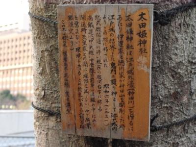 太田姫神社旧社地由来