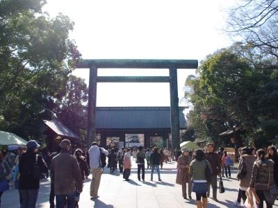 靖国神社20070327-2