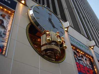 マリオンからくり時計20100925