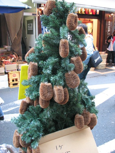築地タワシツリー20090117-1