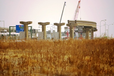 モノレール廃軌道20110205-1