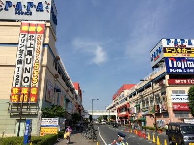 北上尾駅前通り