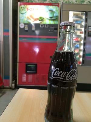 コーラとトーストサンド自販機