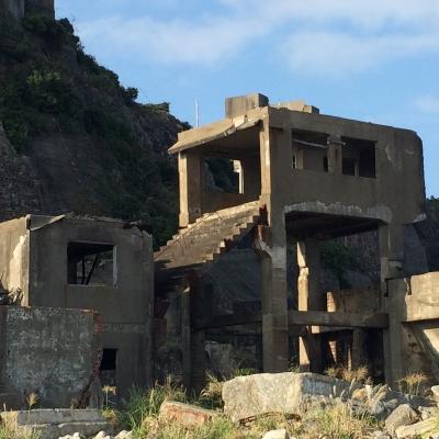 第二竪坑階段