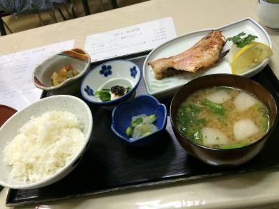 赤魚粕漬焼き定食