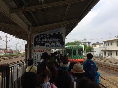真岡鉄道下館駅