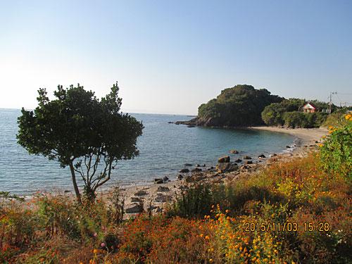 竜宮城への浜