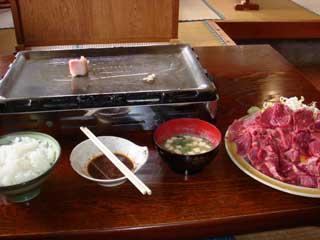 一人では多すぎる肉