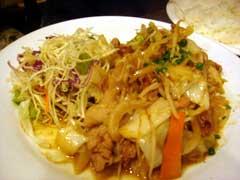 ハローの野菜炒め