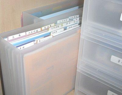 無印で書類をすっきり!整理収納(^^)