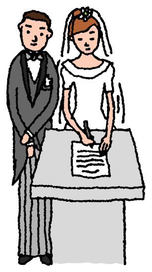 オリジナル婚姻届
