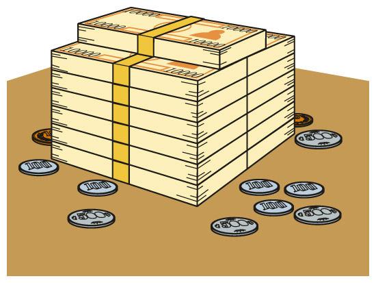 金融資産の年代別