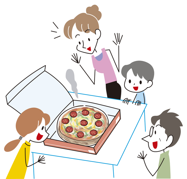 家族そろって夕食を取る頻度
