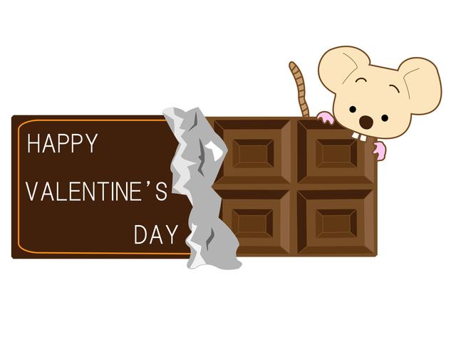 バレンタインデーにチョコを贈る相手