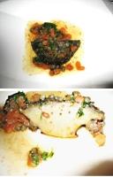 京都のフレンチ ボルドーの名品 鮑のステーキ
