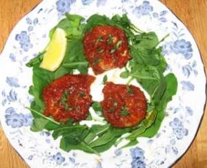 帆立貝のトマト煮込み