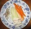 バトネに切った野菜