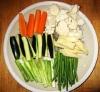 一緒にブレゼする野菜