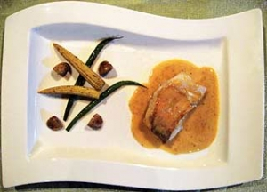 甘鯛のブレゼ ノイリー風味のソース・ヴァンブラン