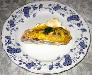 牡蠣のグラタン