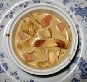 松茸のフリカッセ